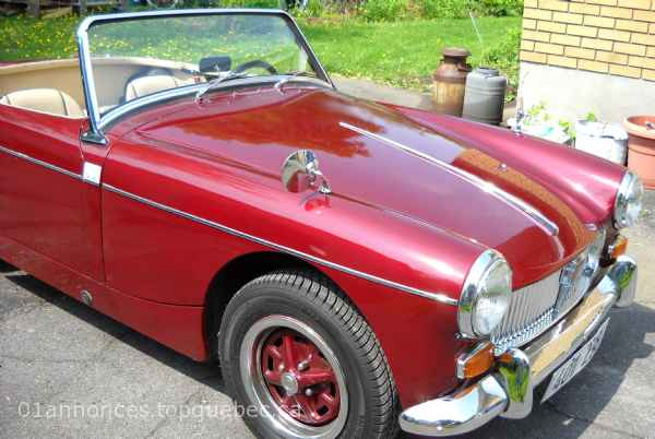 MG Midget 1961 décapotable