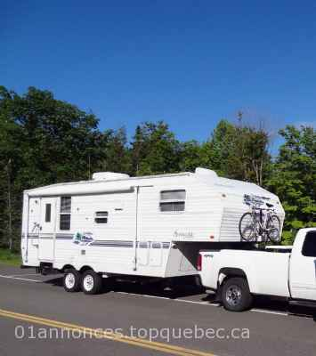 Caravane à sellette - 27' - fifth wheel